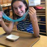 Camp B1 School age Ava - ocean slime -