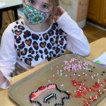 Camp B1 School age Vivian - fuse beads -