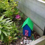 student created fairy garden