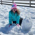 School age Ryann - snowball -