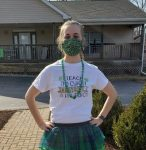 bemis farms staff St. Patricks Day outfit
