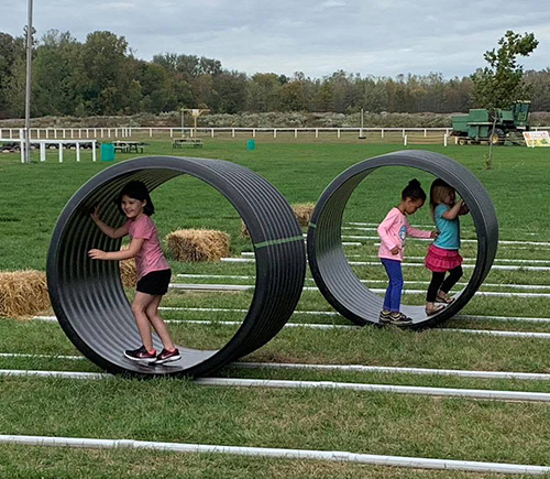 lincoln schools preschool kids playing outdoors